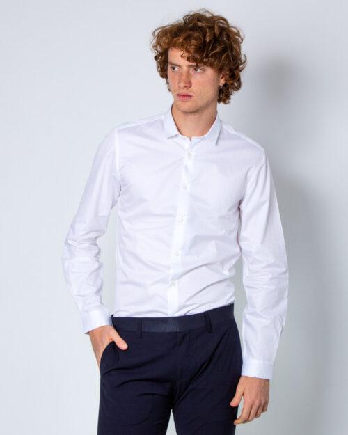 Camicia manica lunga Antony Morato COLLO PICCOLO Bianco - Foto 1