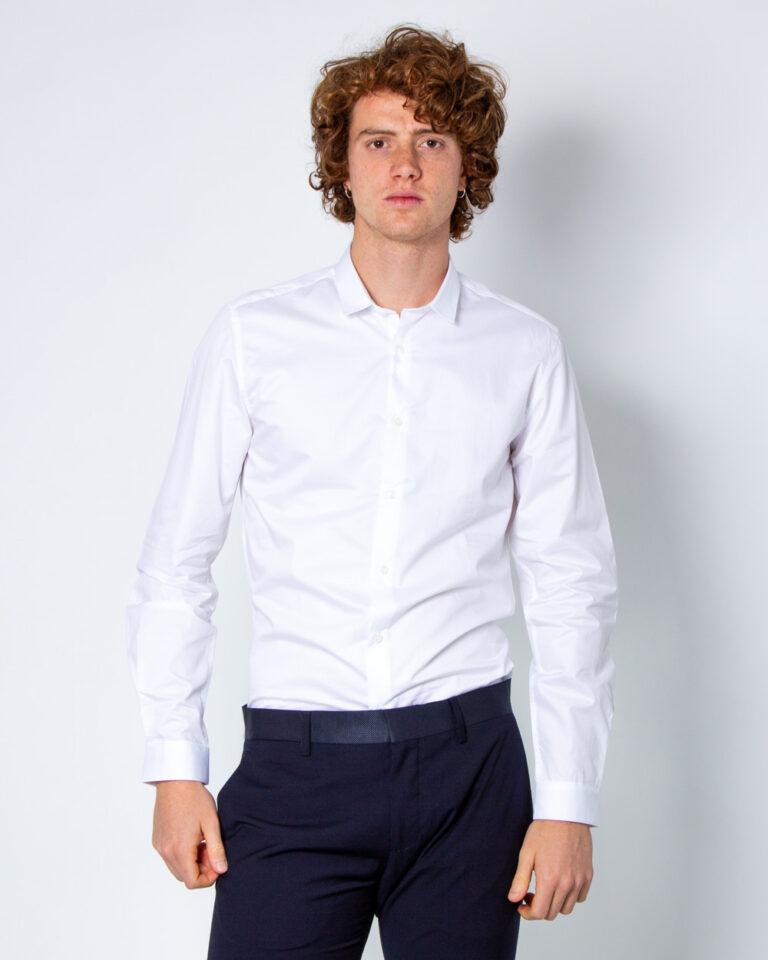 Camicia manica lunga Antony Morato COLLO PICCOLO Bianco - Foto 2