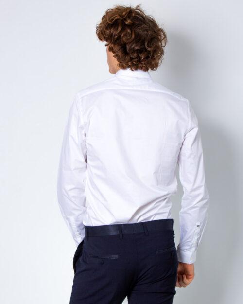Camicia manica lunga Antony Morato COLLO PICCOLO Bianco - Foto 3