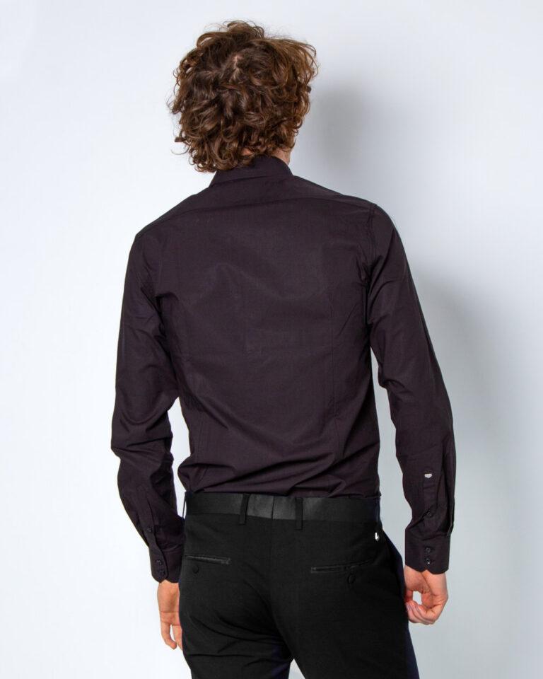 Camicia manica lunga Antony Morato COLLO CON BOTTONI METALLO Nero - Foto 2