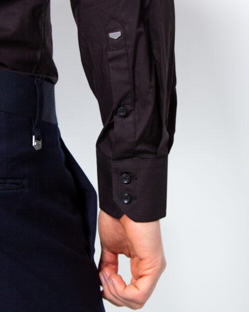 Camicia manica lunga Antony Morato COLLO CON BOTTONI METALLO Nero - Foto 4