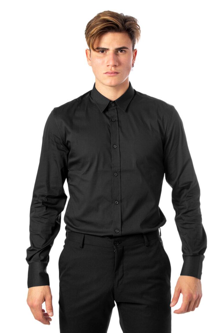Camicia manica lunga Antony Morato BASICA Nero - Foto 1