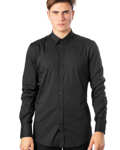Camicia manica lunga Antony Morato BASICA Nero - Foto 3