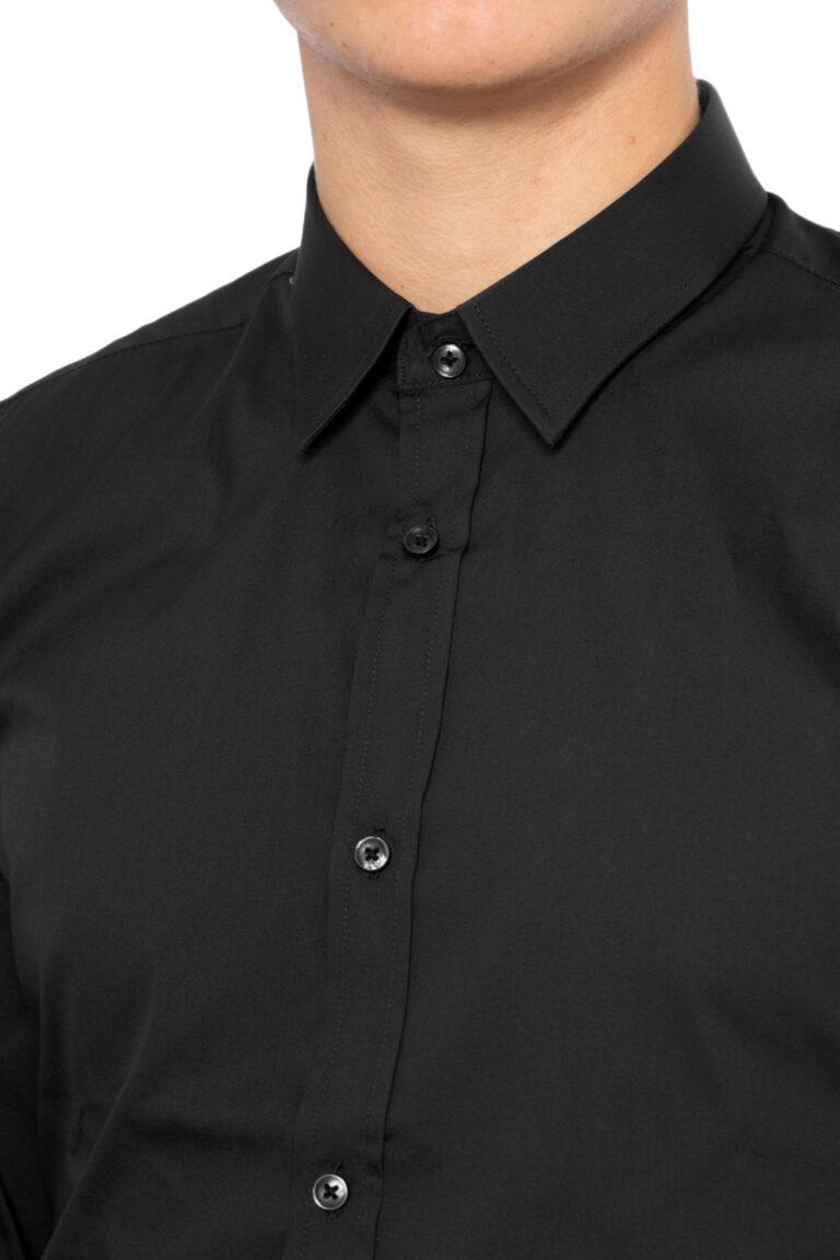 Camicia manica lunga Antony Morato BASICA Nero - Foto 4