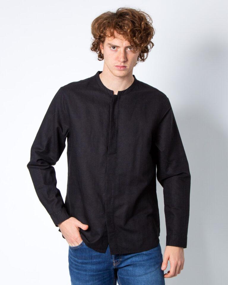 Camicia manica lunga Antony Morato SENZA COLLO Nero - Foto 1