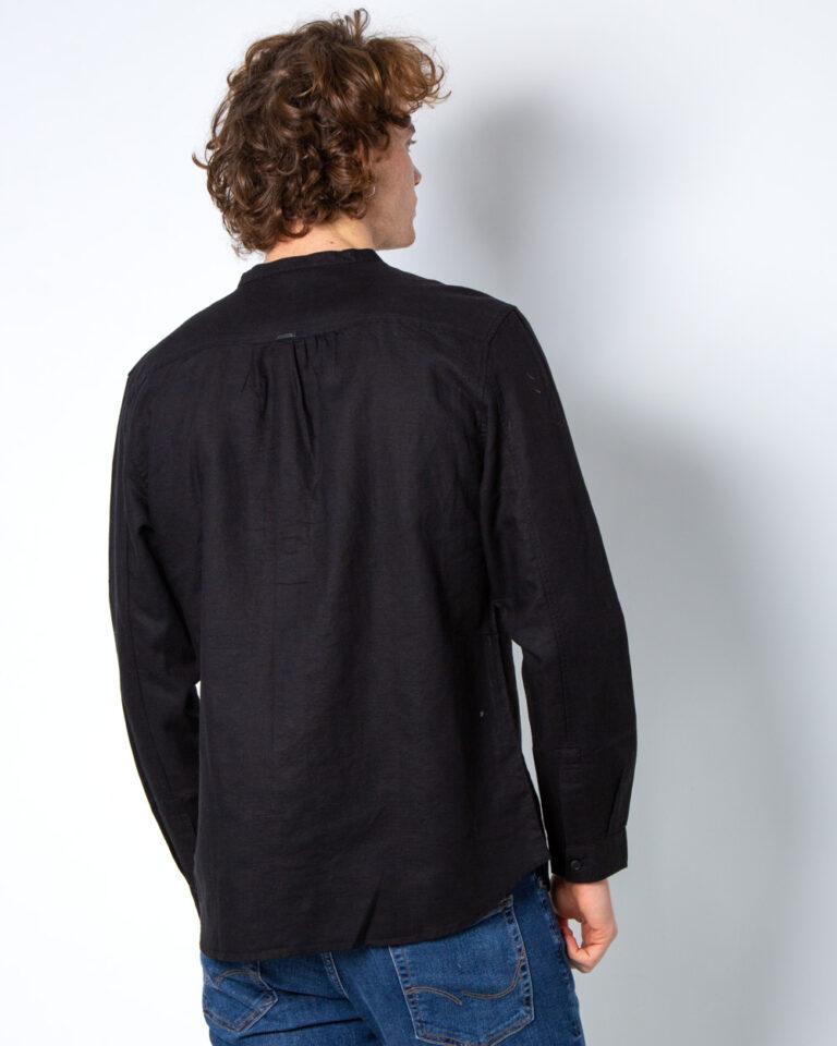 Camicia manica lunga Antony Morato SENZA COLLO Nero - Foto 2