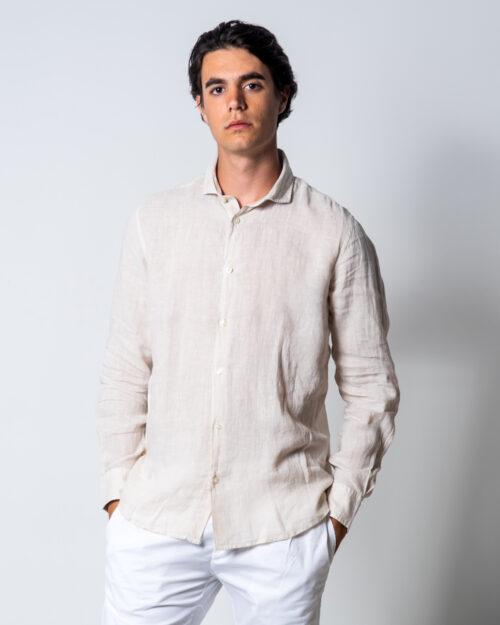 Camicia manica lunga Brian Brome CULT Beige - Foto 1