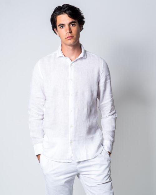 Camicia manica lunga Brian Brome CULT Bianco - Foto 1
