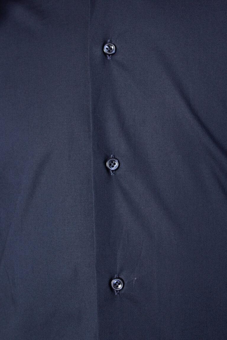 Camicia manica lunga Brian Brome STRETCH FRANCESE Blu - Foto 3