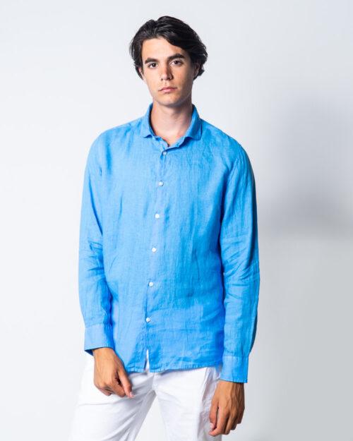 Camicia manica lunga Brian Brome CULT Blu Chiaro - Foto 1
