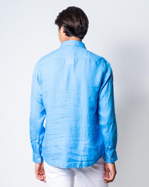 Camicia manica lunga Brian Brome CULT Blu Chiaro – 45388