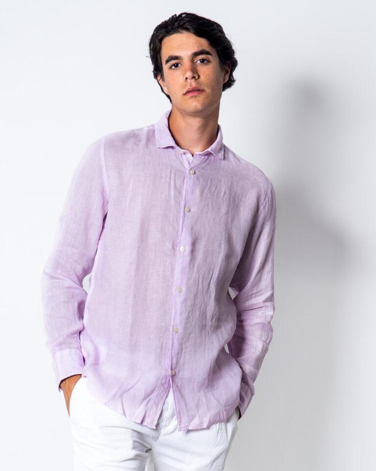 Camicia manica lunga Brian Brome CULT Rosa - Foto 1