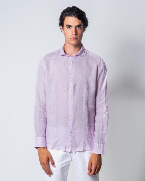 Camicia manica lunga Brian Brome CULT Rosa - Foto 2