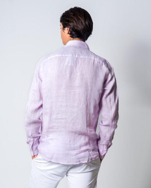 Camicia manica lunga Brian Brome CULT Rosa - Foto 3