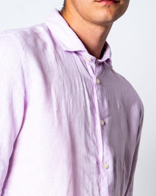 Camicia manica lunga Brian Brome CULT Rosa - Foto 4