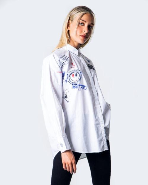 Camicia manica lunga Desigual CAM ODER Bianco - Foto 1