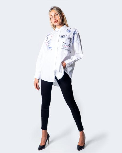 Camicia manica lunga Desigual CAM ODER Bianco - Foto 2