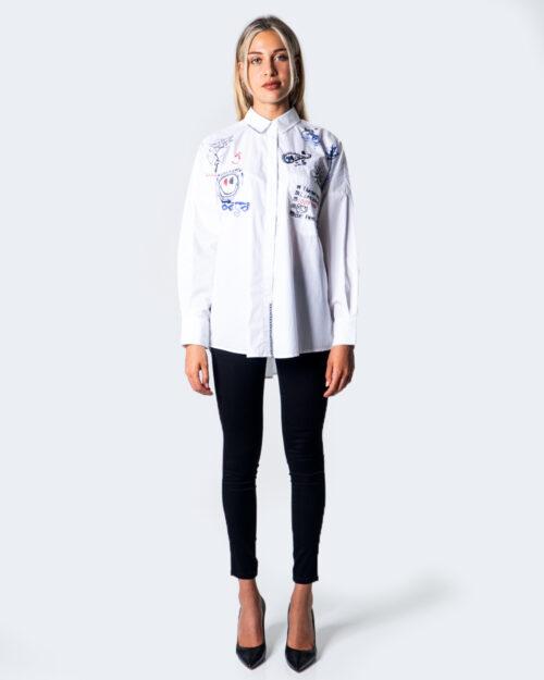 Camicia manica lunga Desigual CAM ODER Bianco - Foto 3