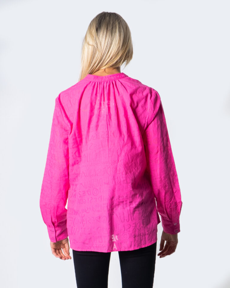 Camicia manica lunga Desigual BLUS LETTERING Fuxia - Foto 3