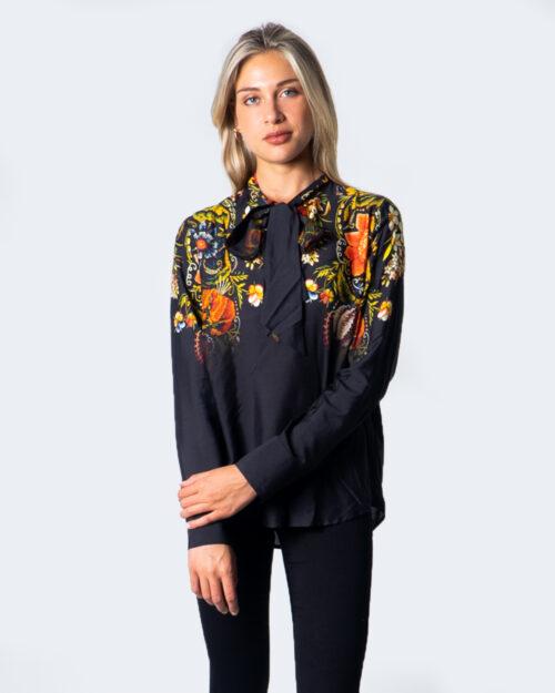 Camicia manica lunga Desigual BLUS LAUREN Nero – 53011