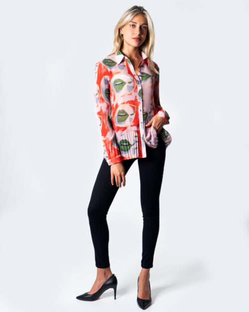 Camicia manica lunga Desigual CAM LIPS Rosa – 52997
