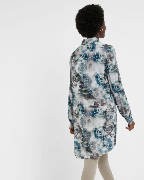 Camicia manica lunga Desigual CAM LOIRA Verde – 52974