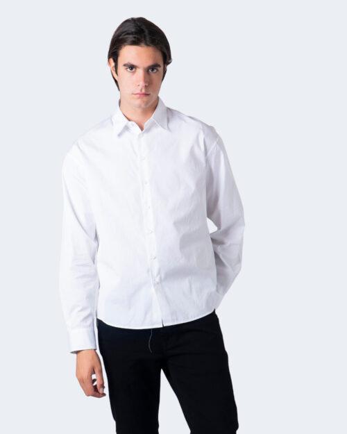 Camicia manica lunga Dsquared2 STAMPA RETRO Bianco – 55668