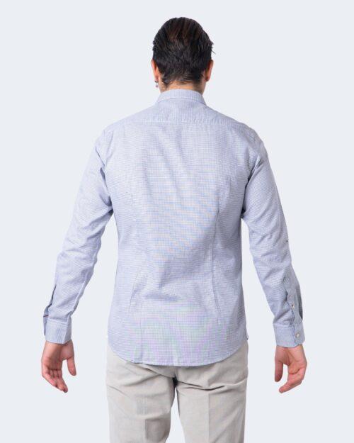 Camicia manica lunga Idra STAMPA FANTASIA Bianco – 59675