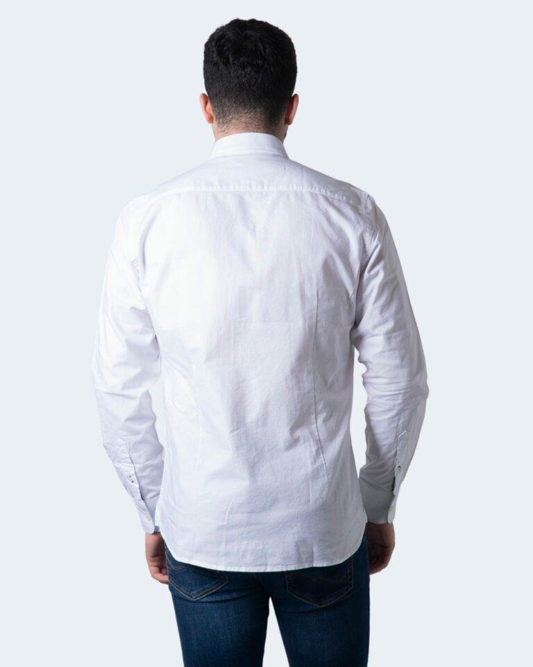 Camicia manica lunga Idra TINTA UNITA Bianco - Foto 2