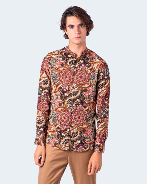 Hydra Clothing Camicia manica lunga FANTASIA 4319Q - 1