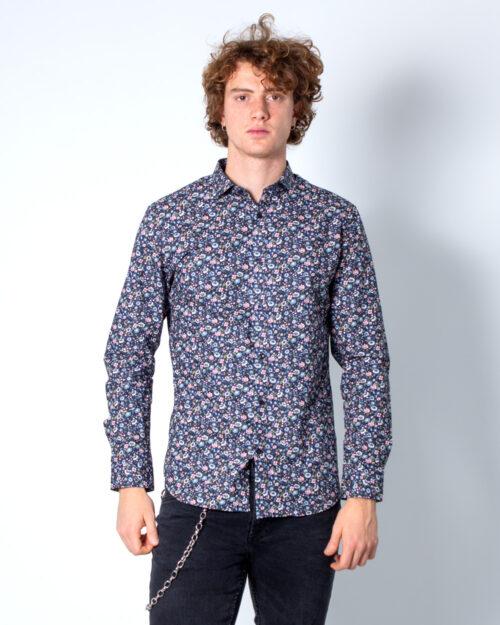 Camicia manica lunga Jack Jones Bla Blackpool Shirt L/S S20 sts Blu – 40783