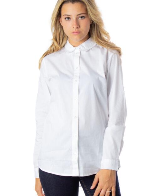 Camicia manica lunga Jacqueline De Yong MIO Bianco – 21314