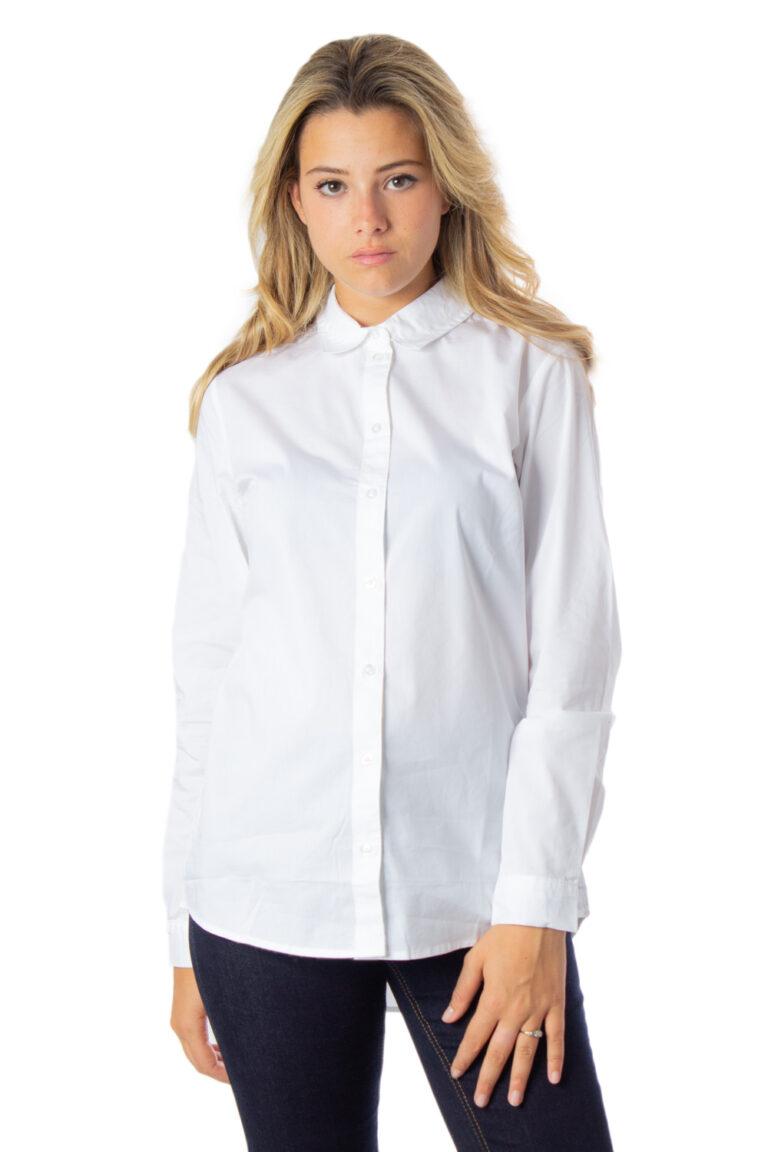 Camicia manica lunga Jacqueline de Yong MIO Bianco - Foto 1