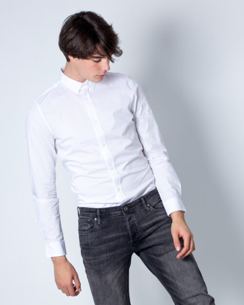 Camicia manica lunga Only & Sons ALFREDO LS SHIRT NOOS Bianco - Foto 1