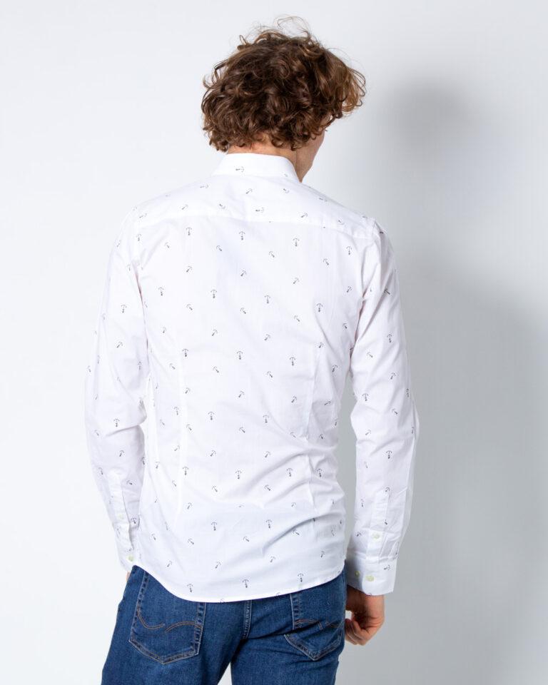 Camicia manica lunga Only & Sons STEFANO LS STRETCH DITSY XSLIM SHIRT Bianco - Foto 3