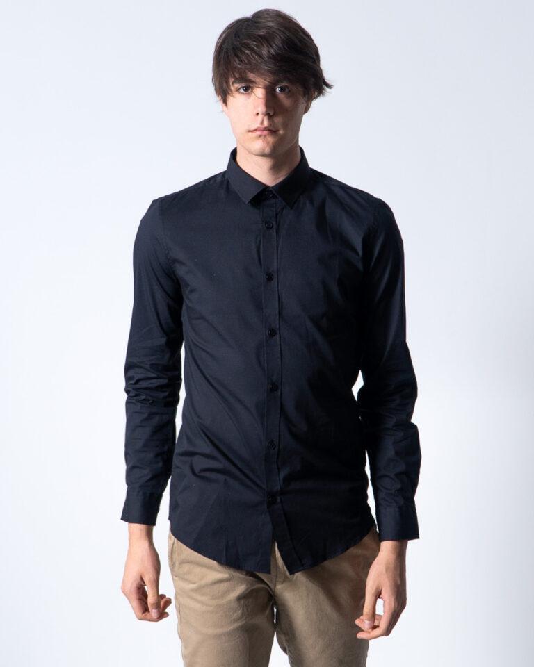 Camicia manica lunga Only & Sons ALFREDO LS SHIRT NOOS Nero - Foto 2