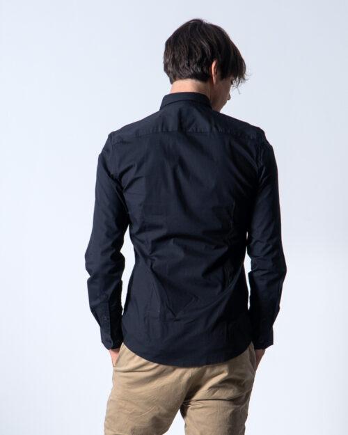 Camicia manica lunga Only & Sons ALFREDO LS SHIRT NOOS Nero - Foto 3