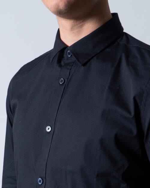 Camicia manica lunga Only & Sons ALFREDO LS SHIRT NOOS Nero - Foto 4