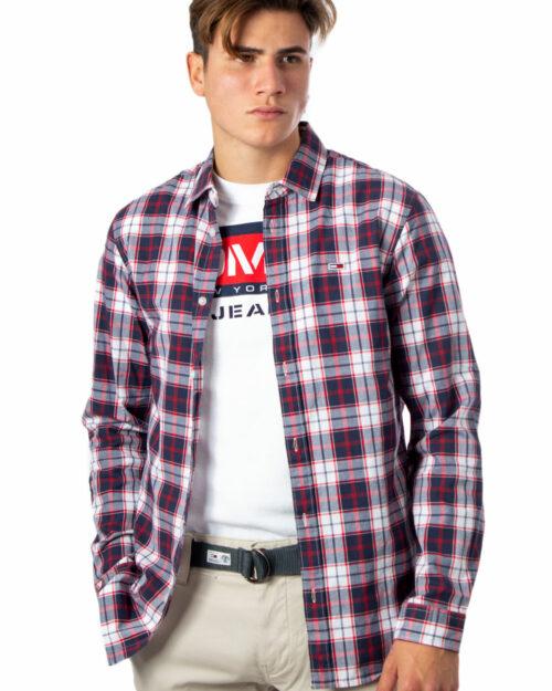 Camicia manica lunga Tommy Hilfiger POPLIN MULTI CHECK SHIRT Bianco – 39212