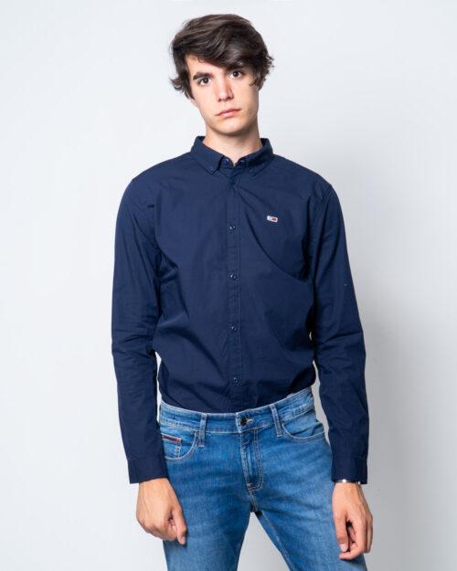 Camicia manica lunga Tommy Hilfiger TJM Light Poplin Slim Fit Blue scuro – 44384