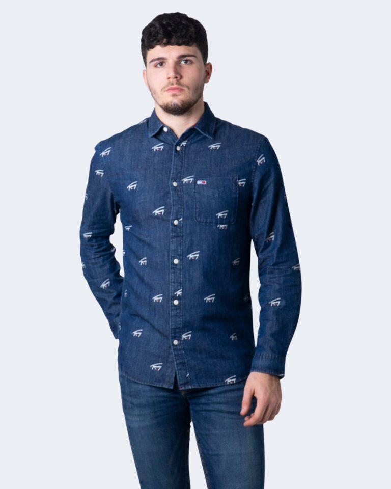 Camicia manica lunga Tommy Hilfiger DENIM CRITTER Denim - Foto 1