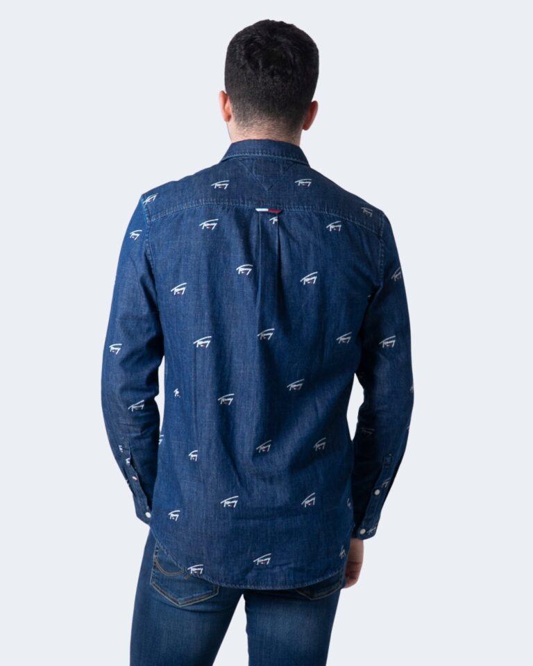Camicia manica lunga Tommy Hilfiger DENIM CRITTER Denim - Foto 2