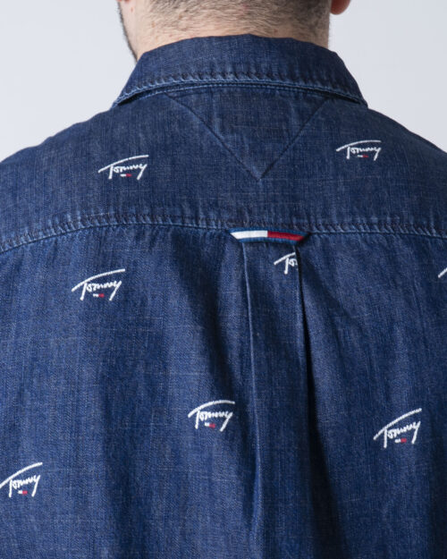 Camicia manica lunga Tommy Hilfiger DENIM CRITTER Denim - Foto 3