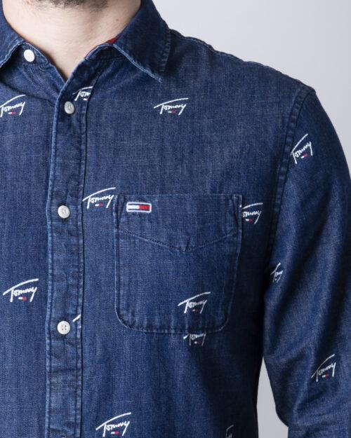 Camicia manica lunga Tommy Hilfiger DENIM CRITTER Denim - Foto 4