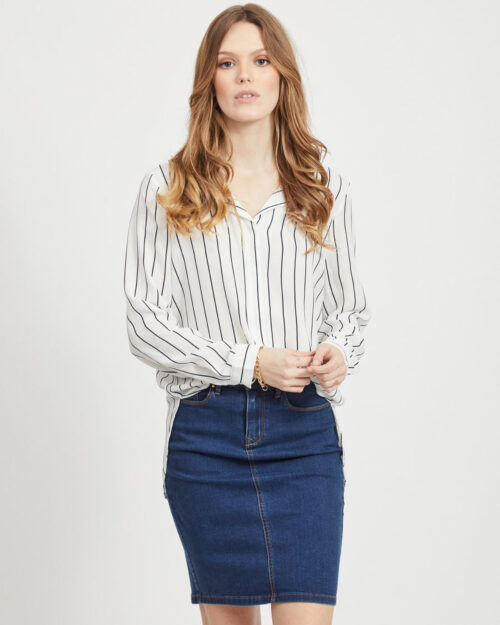 Bluse manica lunga Vila Clothes Lucy Bianco – 40607
