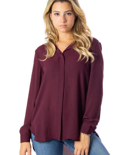 Bluse manica lunga Vila Clothes LUCY Bordeaux – 24918