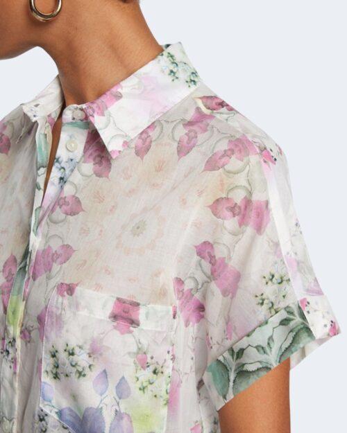 Camicia manica corta Desigual SHEILA Bianco – 65785