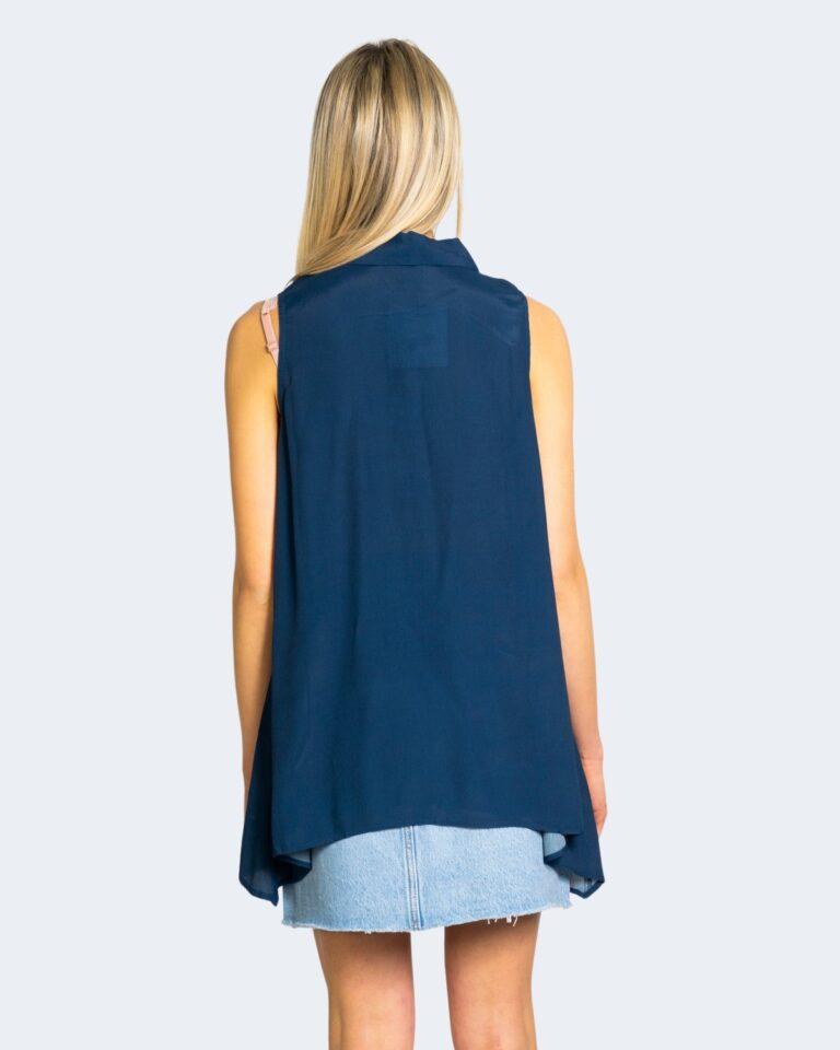 Camicia manica corta Desigual FILADELFIA Blu - Foto 2