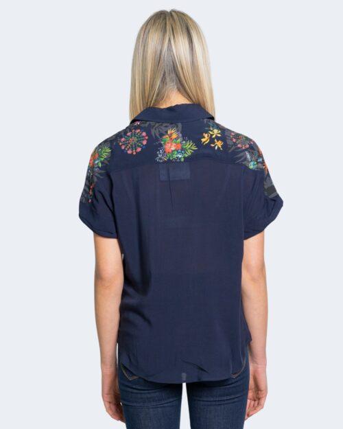 Camicia manica corta Desigual LUNA Blu – 65784