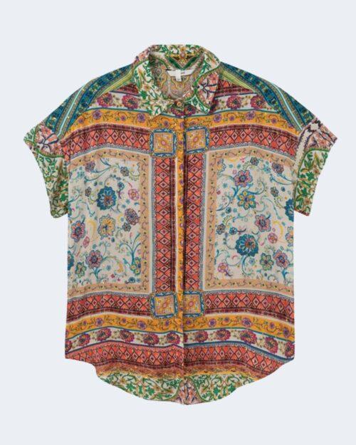 Camicia manica corta Desigual YAEL Giallo - Foto 4
